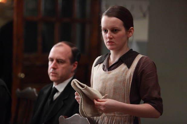Kevin Doyle as Molesley, Sophie McShera as Daisy