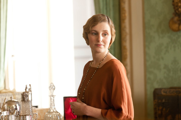 Downton Abbey S03E03: Laura Carmichael as Lady Edith