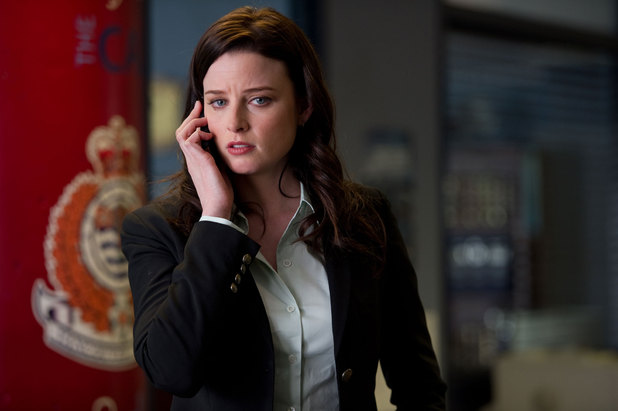 Rachel Nichols as Kiera in 'Continuum'