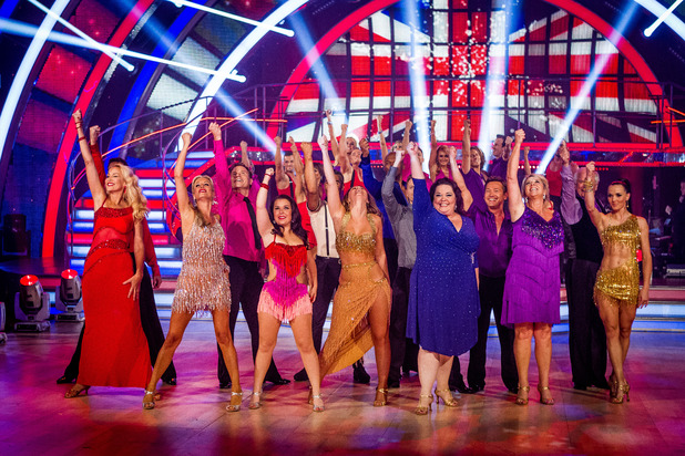 Strictly Come Dancing, group shot, 2012