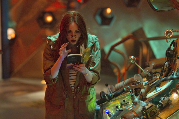 Doctor Who S07E05 - &#39;The Angels Take Manhattan&#39;: Amy Pond