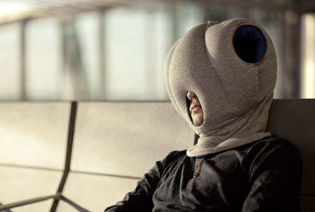 The Ostrich pillow