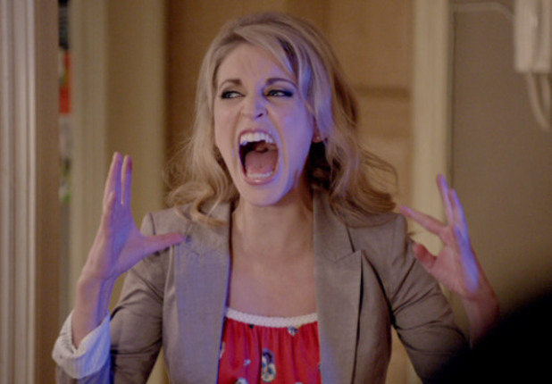 Amy Huberman as Alice in 'Threesome'