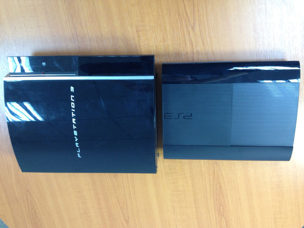 The super slim PS3