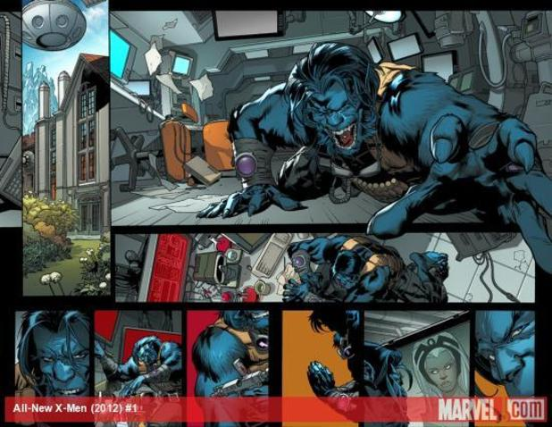 All-New X-Men #1 Beast