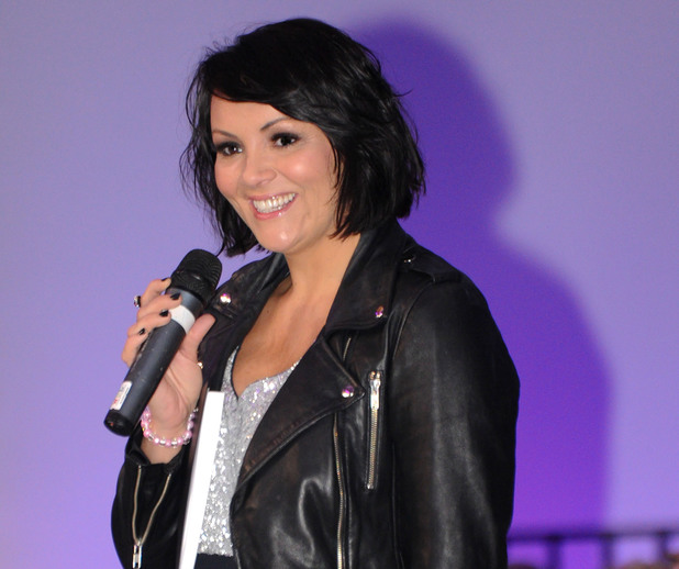 Martine McCutcheon hosts the Style Birmingham Live show in Birmingham.