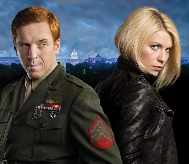 Homeland, series two, Carrie and Brody