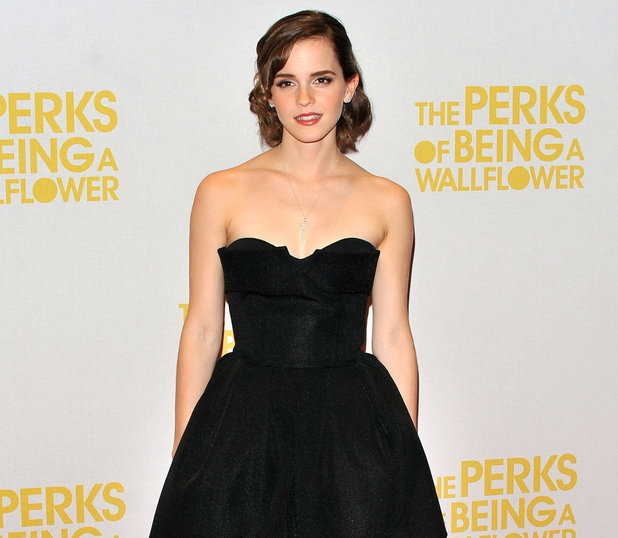 Emma Watson Gala Screening of 'The Perks of Being A Wallflower' held at the May Fair Hotel - Inside Arrivals. London, England - 26.09.12 Credit: (Mandatory): WENN.com