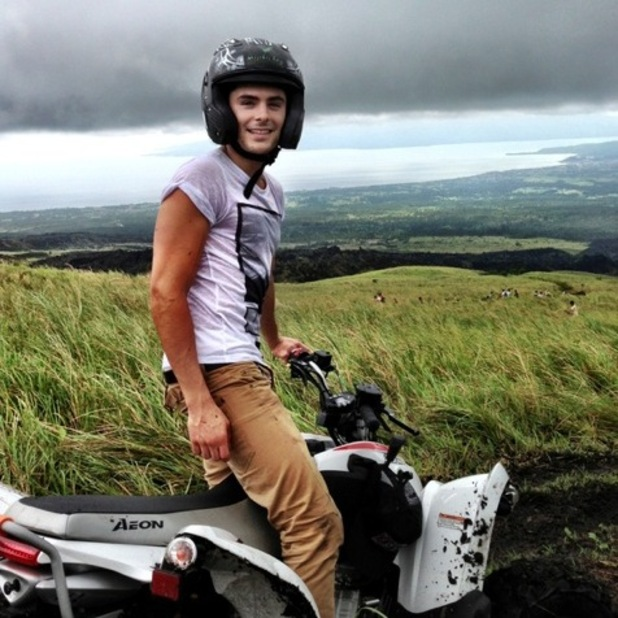Zac Efron in the Philippines