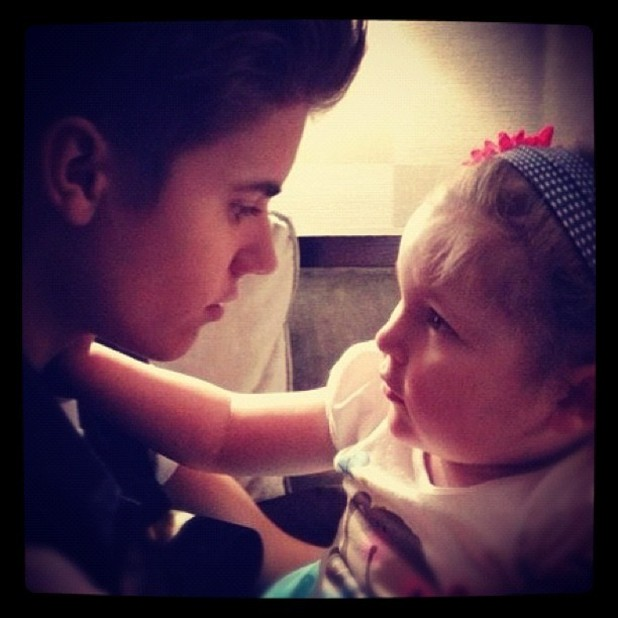 Justin Bieber shares an Instagram photo with late fan Avalanna Routh