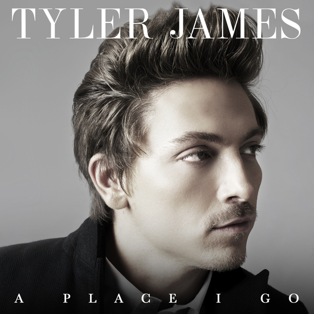 Tyler James &#39;A Place I Go&#39; album artwork.
