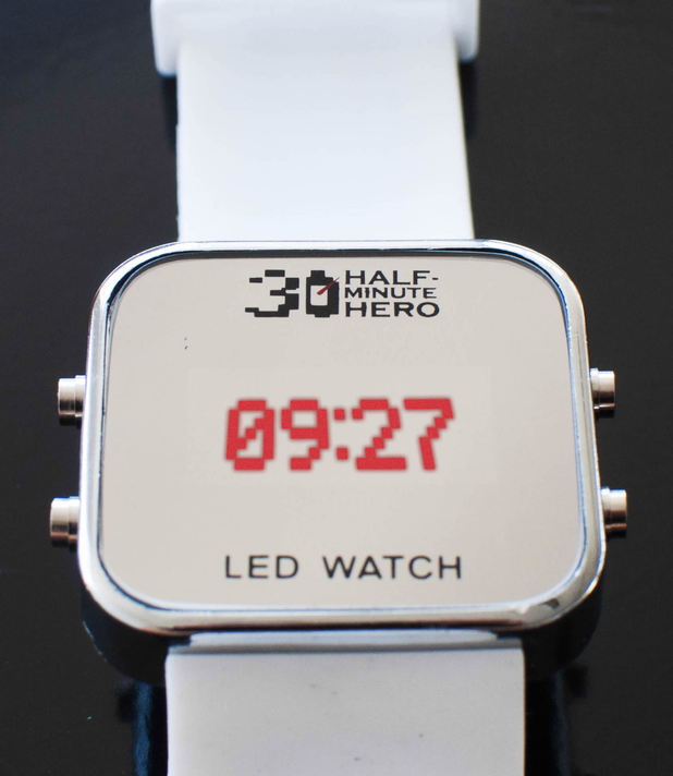 Half Minute Hero wrist watch