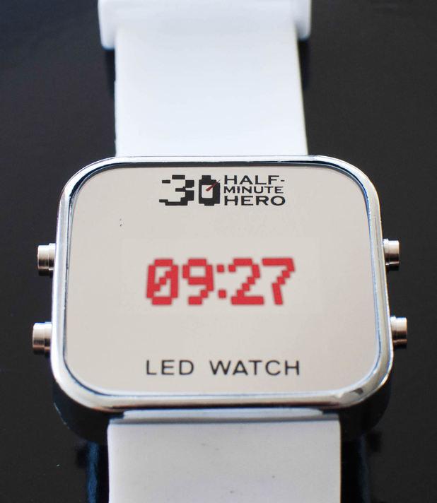 Half Minute Hero wrist watch