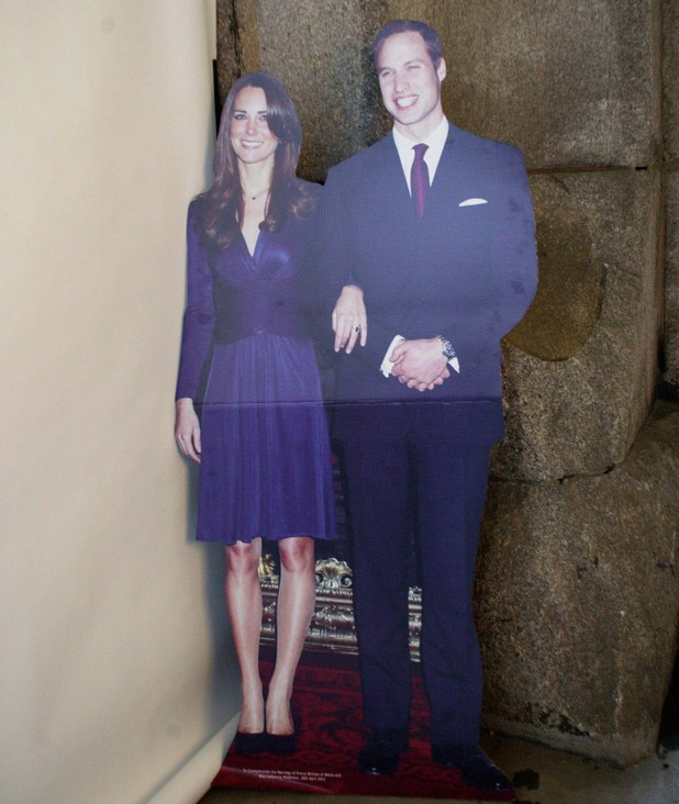 Kate Middleton life-size cut-out left in hotel