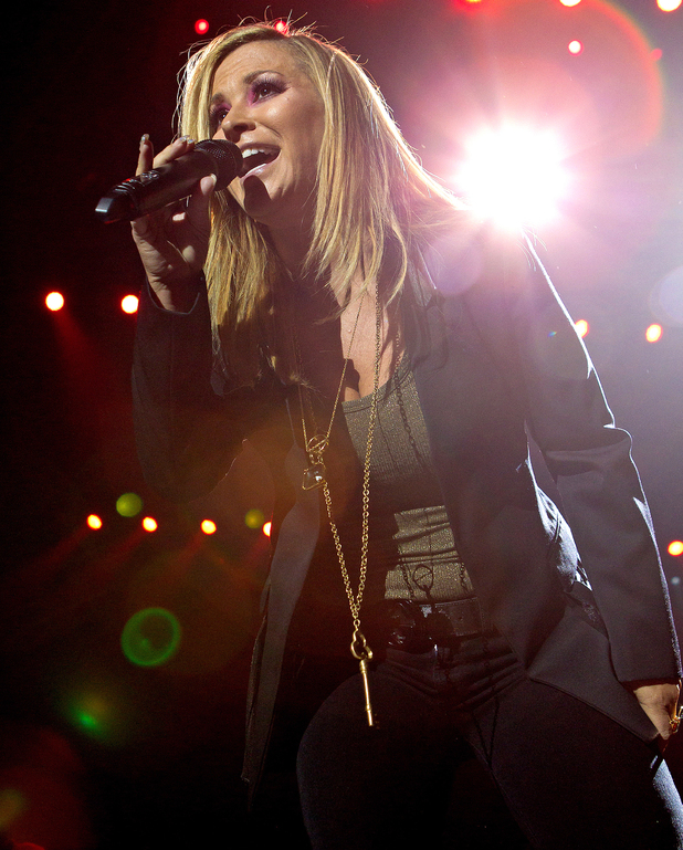 Anastacia performs at the 2012 Night of The Proms Concert in Sweden.