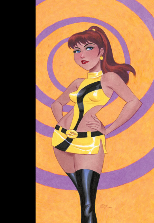 Before Watchmen: Silk Spectre #4 variant cover