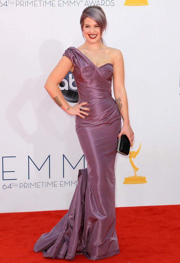Kelly Osbourne 64th Annual Primetime Emmy Awards, held at Nokia Theatre L.A. Live - Arrivals Los Angeles, California - 23.09.12 Mandatory Credit: WENN.com/FayesVision