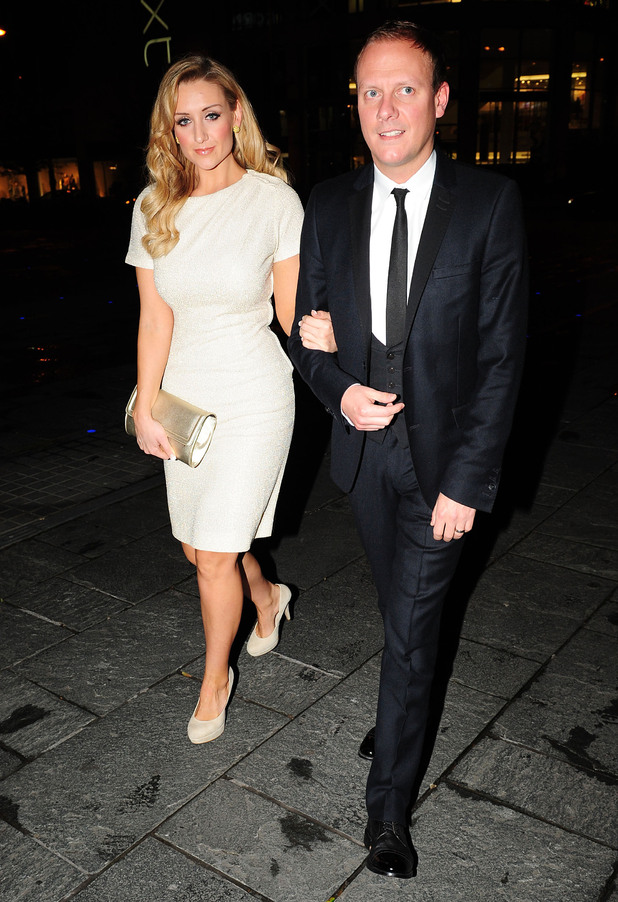 Catherine Tyldesley and Antony Cotton at Selfridge's 10th anniversary celebration...