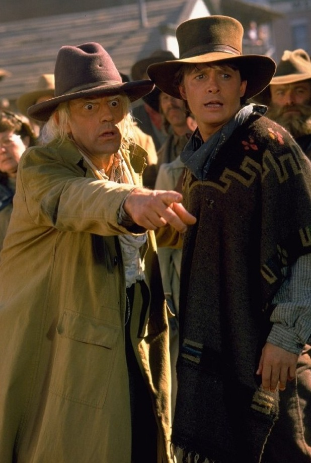 Michael J Fox, Christopher Lloyd, Back to The Future III