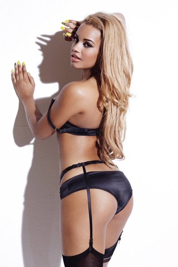 'The Valleys' star Lateysha poses for Nuts magazine