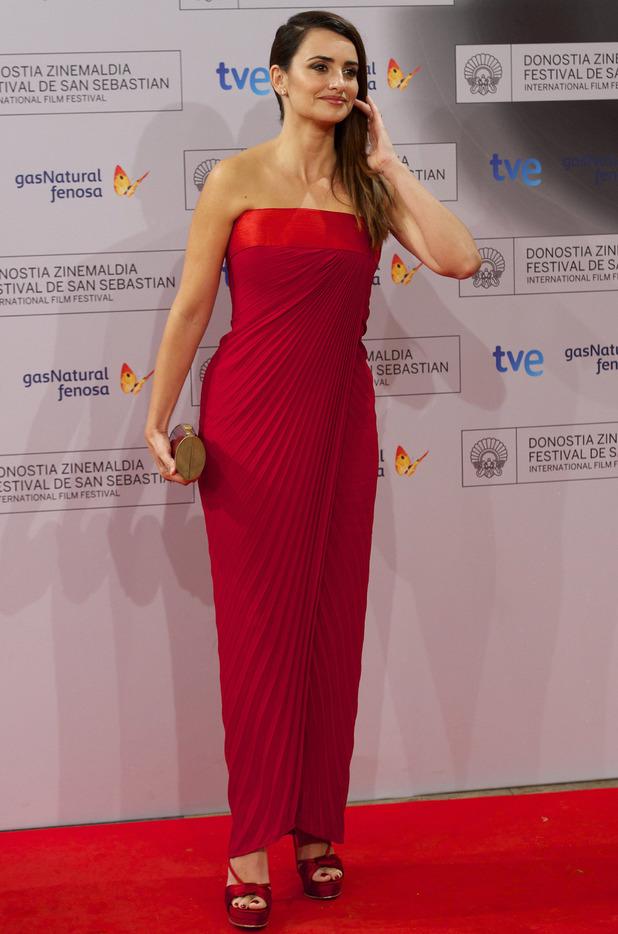 Spanish Actress Penelope Cruz  60th San Sebastian International Film Festival - 'Venuto al Mondo' -Premiere