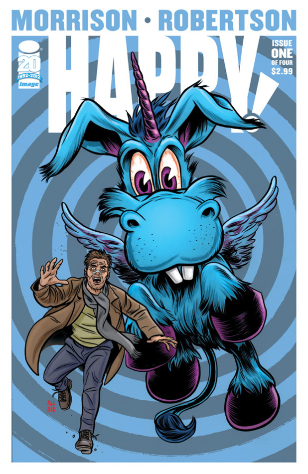 Grant Morrison's 'Happy!' variant cover