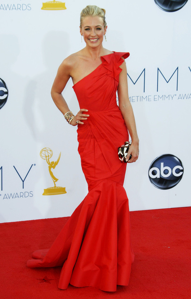 Cat Deeley, Tadashi Shoji, 64th Annual Primetime Emmy Awards