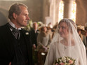 Lady Edith and Sir Anthony walk up the aisle, and Mrs Hughes gets test results.