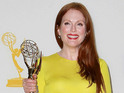 Actress uses Emmys backstage 'thank you cam' to honor 30 Rock star.