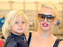 The No Doubt singer says her son with Gavin Rossdale practises to her music.