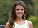 Lucy Mecklenburgh hosts a charity coffee morning, in support of Macmillan Cancer Support&#39;s World&#39;s Biggest Coffee Morning campaign, in Orsett, Essex.