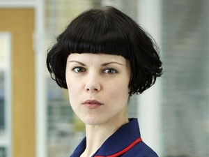 Sarah-Jane Potts as Eddi McKee in Holby City