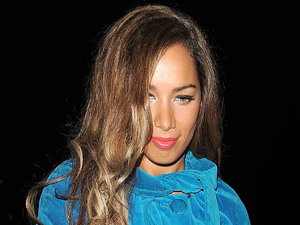 Leona Lewis arriving at Annabel&#39;s private members club in Mayfair.