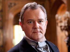 Hugh Bonneville as Lord Grantham in Downton Abbey