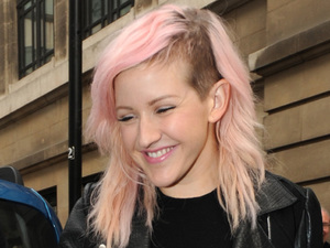 Ellie Goulding at the BBC Radio 2 studios London