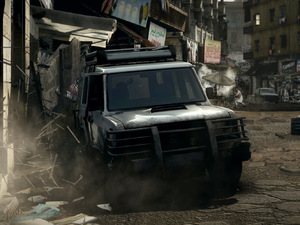 Medal of Honor Warfighter's driving stage 'Hot Pursuit'