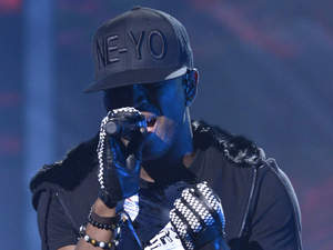 Ne-Yo performing X factor