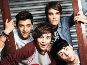 Union J for Now Magazine