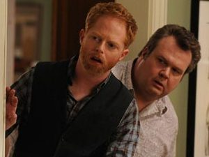 Jesse Tyler Ferguson as Mitchell and Eric Stonestreet as Cameron in &#39;Modern Family&#39;