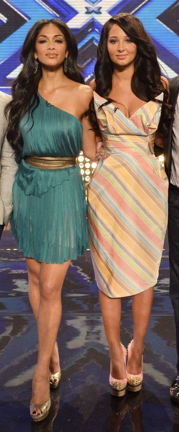 Nicole Scherzinger and Tulisa Contostavlos