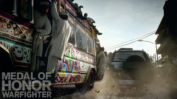 Medal of Honor: Warfighter 'Hot Pursuit' screenshots