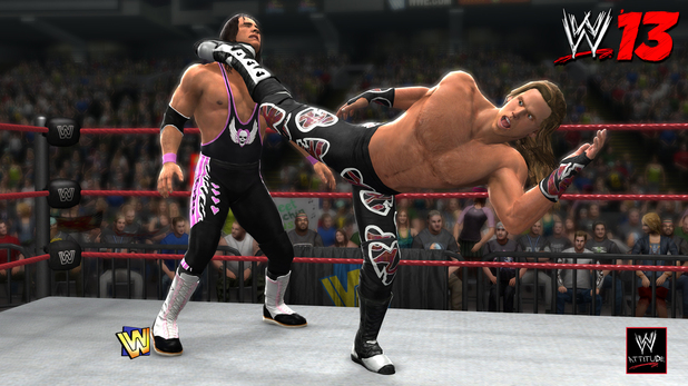 WWE 13 DX 'Attitude Era' screenshot