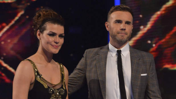 Gary Barlow and Carolynne Poole X Factor results show