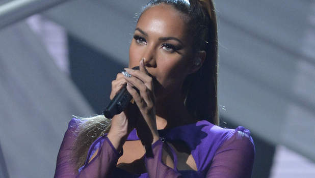 Leona Lewis performing X factor