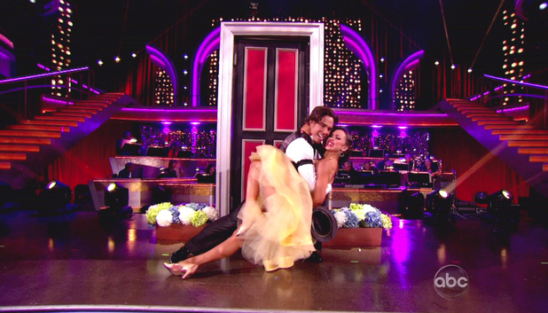 Dancing With The Stars S15E03: Apolo Anton Ohno and Karina Smirnoff 