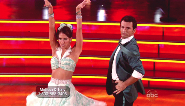 Dancing With The Stars S15E03: Melissa Rycroft and Tony Dovolani