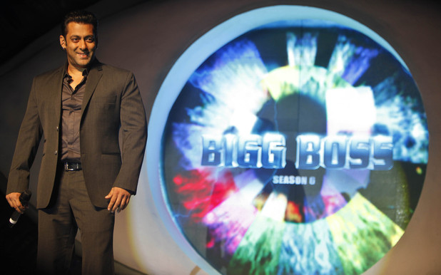 Bollywood actor Salman Khan, speaks during an event to launch of television show 'Bigg Boss 6', in Mumbai, India, Sunday, Sept. 16, 2012.