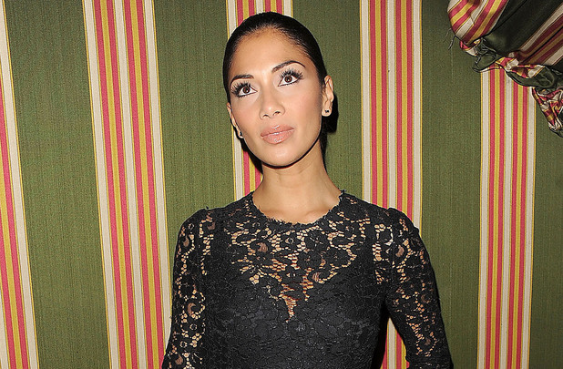 Nicole Scherzinger arriving at Annabel's private members club in Mayfair. London, England