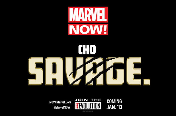 Frank Cho 'Savage' Marvel NOW! teaser