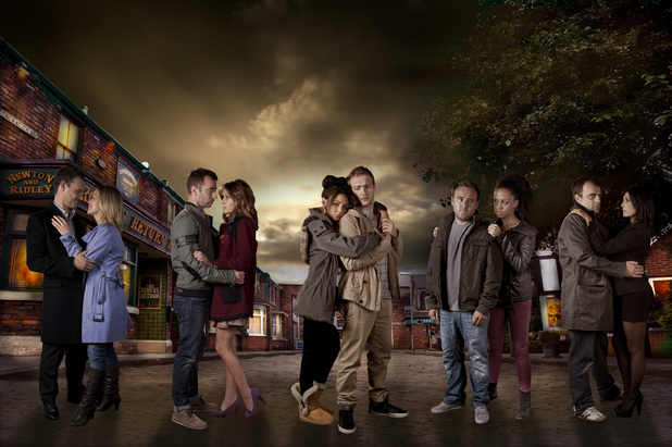 Coronation Street autumn promo shot